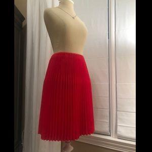 ASOS Red Skirt